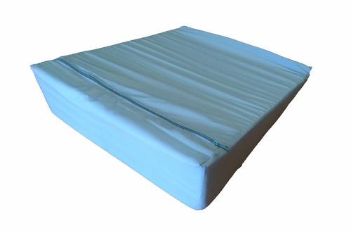 almohada para bebe colchon cuña antireflujo gde 50 x 60 x 15