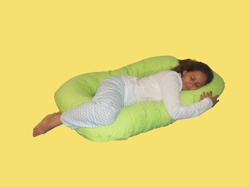 almohada para embarazadas, descanzo completo