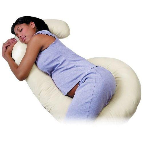 almohada para embarazo cojin c para confor y lactancia