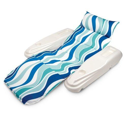 almohada para piscina poolmaster azul