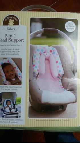 almohada para porta bebé de niña, excelente estado.