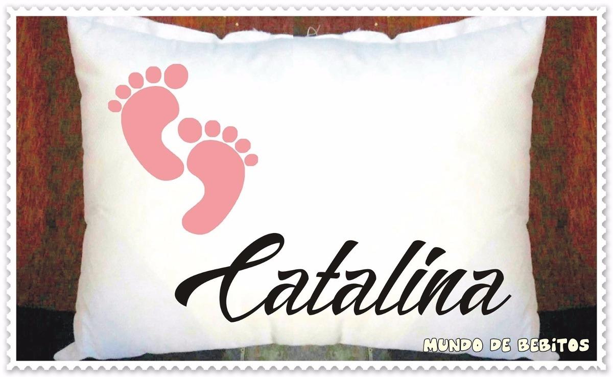 Almohada De Bebé Personalizada