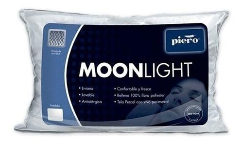 almohada piero moonlight vellón (70cm x 40cm) tela de algodón percal antialérgica oferta!!!