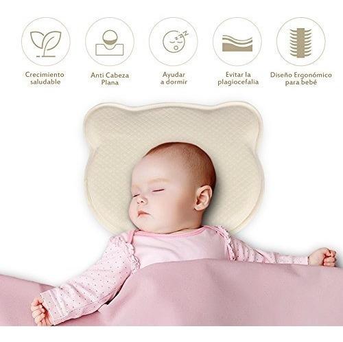 almohada prevencion cabeza plana