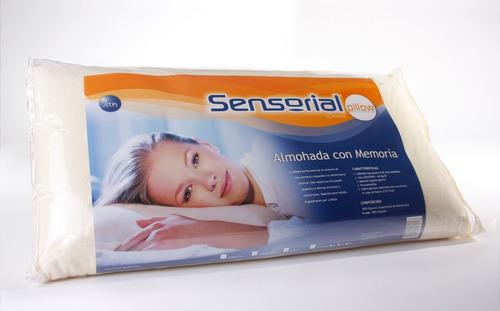 almohada sensorial viscoelastica 70 x 40 inteligente