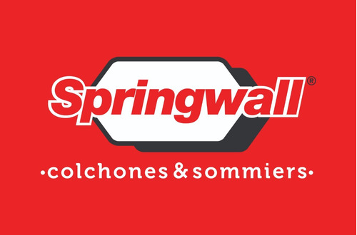 almohada springwall de fibra 80x40