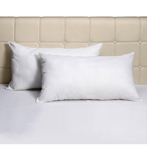 almohada suplesa 50 x 70 600 gramos fibra siliconada