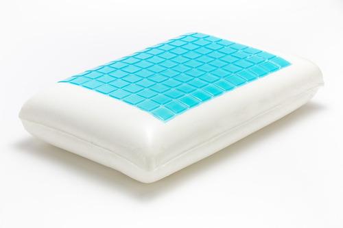 almohada temp control memory foam y gel queen size