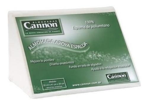 almohada triángulo cannon apoya espalda (50cm x 41cm x 29cm) funda de algodón antialérgica!!! oferta!!!