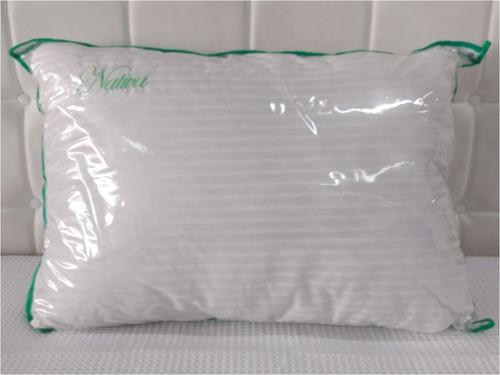 almohada vellon siliconado nativa faja fiberball 70x40