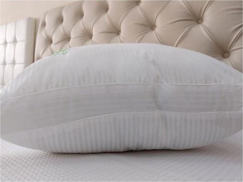 almohada vellon siliconado nativa faja fiberball 90x40