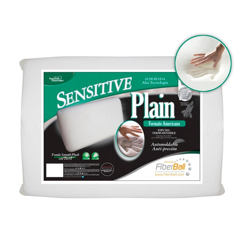 almohada viscoelastica con memoria sensitive - fiberball