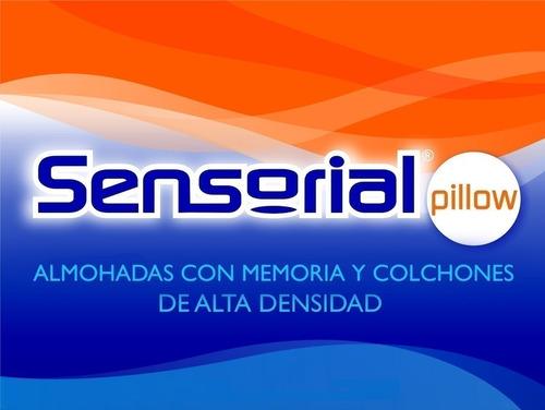 almohada viscoelástica inteligente con memoria sensorial (70cm x 35cm) alta densidad tela algodón con cierre! oferta!