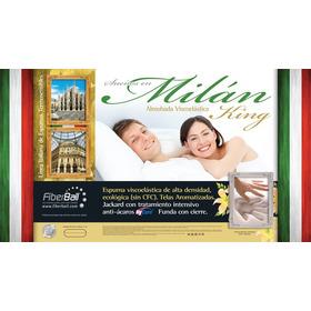 Almohada Viscoelastica Italiana King Premium 80 Cm