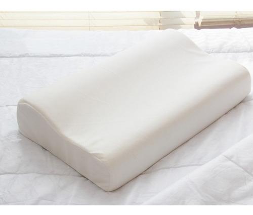 almohada viscoelástica, memoria retorno cervical ortopédica