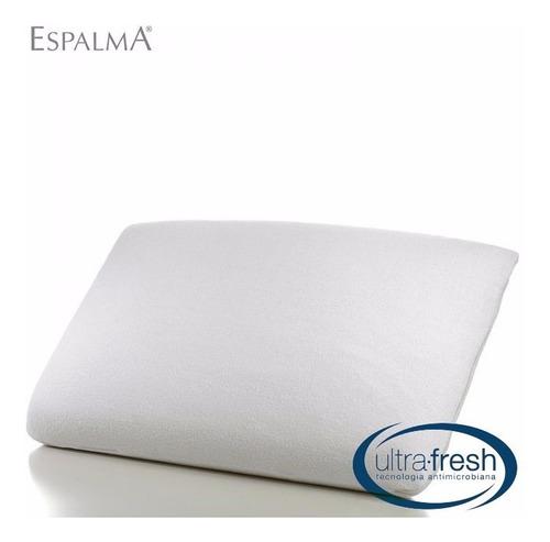 almohada viscoelastica nasa memory foam espalma 68x48 lujo