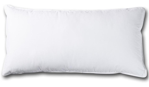 almohada zip percal king 50 x 90 180 hilos