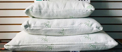 almohadas bamboo en todos los tamaños indi,matr,quee,king
