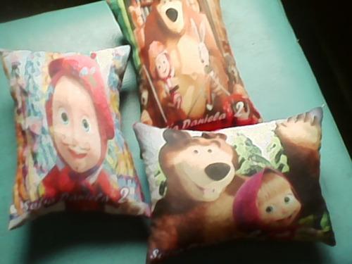 almohadas cojines infantiles recuerdos regalos