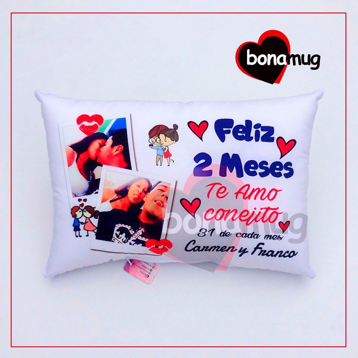 Almohadas cojines personalizadas regalo peluche amor s 36 00 en mercado libre - Cojines con tu foto ...