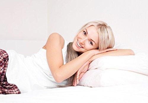 almohadas de cama,overfilled down alternative back  side..