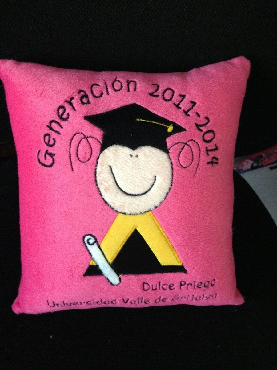 Almohadas De Recuerdos Para Graduación-- Personalizados