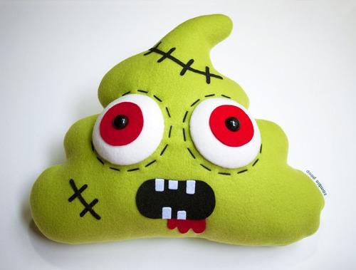 almohadas decorativas  zombies