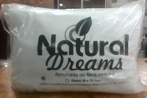 almohadas hipolargenica de fibra sintetica natural dreams