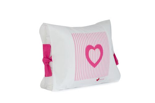 almohadas orgánicas para niñas - hipoalergénica 100% algodón