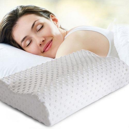 almohadas ortopédica - fibra viscoelástica+ funda