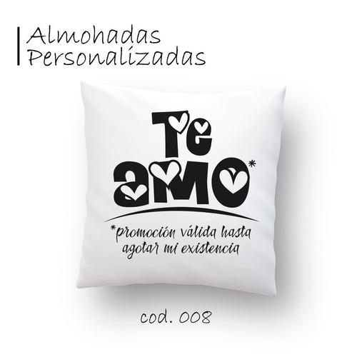 almohadas personalizadas | sublimadas