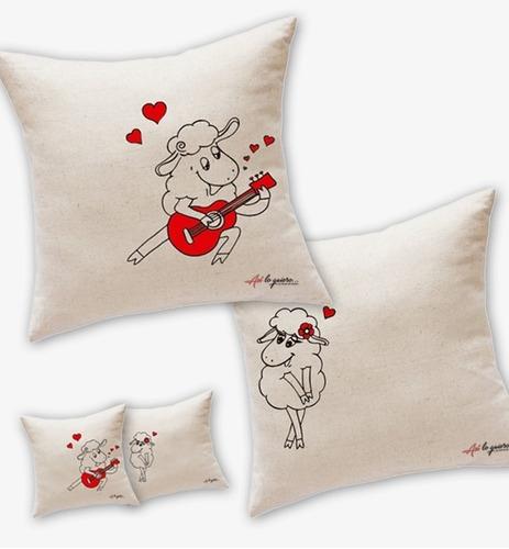 almohadas regalo san valentín enamorados amor personalizadas