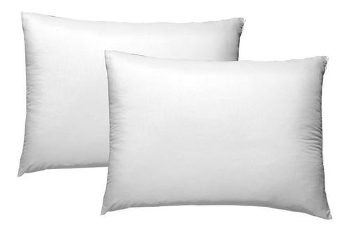almohadas ultrafresh estandar 2 pz microfibra 65 x 48 cms