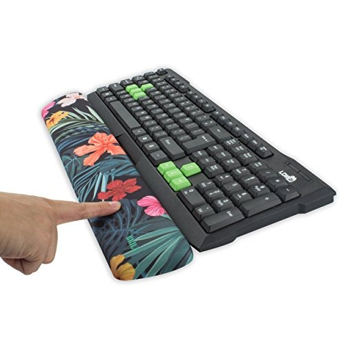 almohadilla de apoyo para teclado de espuma viscoelástica d
