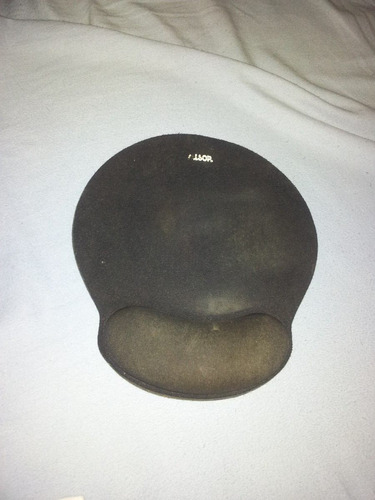 almohadilla de mouse con espuma de memoria (bien comodo)
