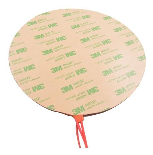 almohadilla de silicona de 320mm para impresora 3d circular