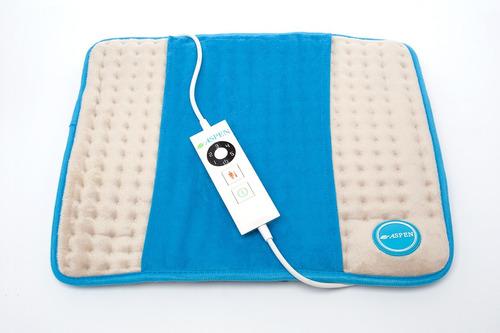 almohadilla electrica aspen universal p/ espalda cintura