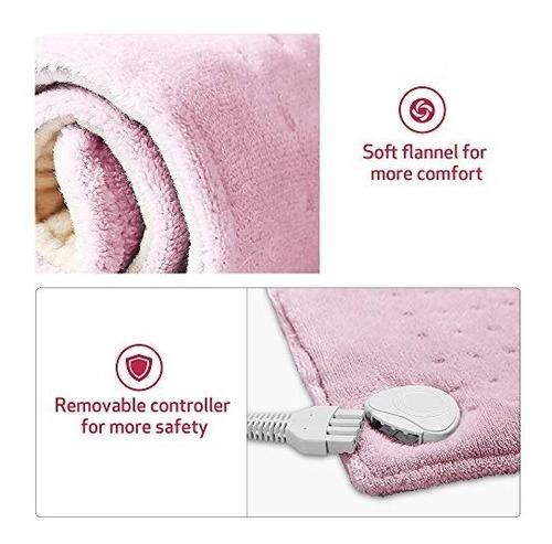 almohadilla eléctrica envoltura de la terapia de calor xxl