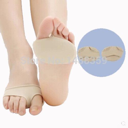 almohadilla gel y tela metatarso correr deporte pie zapatos