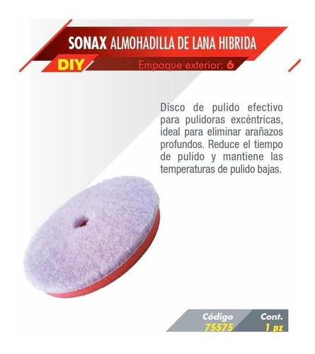 almohadilla híbrida sonax 75575