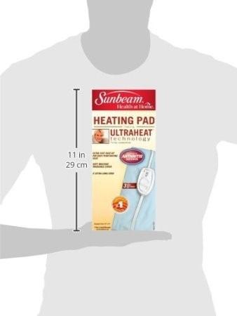 almohadilla manta termica electrica ultraheat 756-500