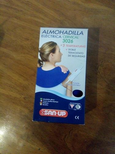 almohadilla térmica cervical san-up