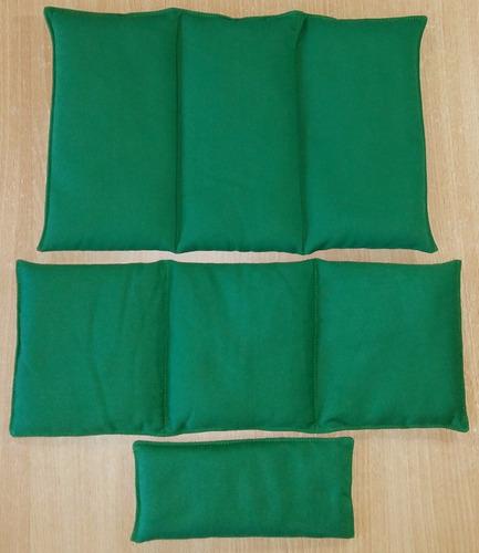 almohadilla térmica de lino con menta congestion alergia