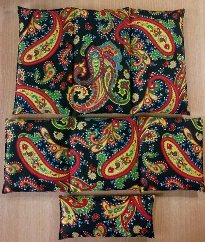 almohadilla térmica de lino menta lavanda bolsita de peso