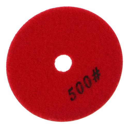almohadillas de pulido de resina de 4 pulgadas terminales