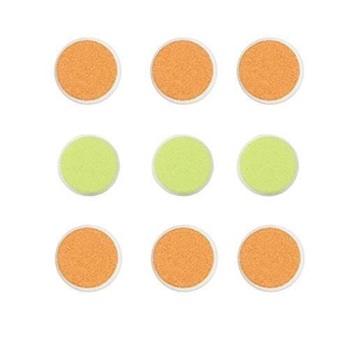 almohadillas de repuesto zoli baby buzz b - paquete de 9, ve