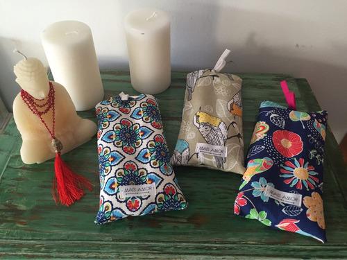 almohadillas de semillas con funda lavable!