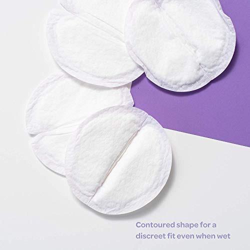 almohadillas desechables de enfermería lansinoh stay dry, 10