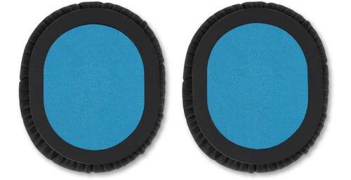 almohadillas kwmobile 2x compatibles con sennheiser hd8 / hd