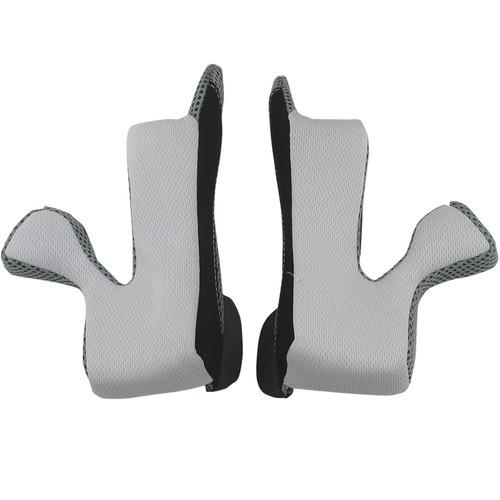 almohadillas mejilla afx fx-21 repuesto gris/xs